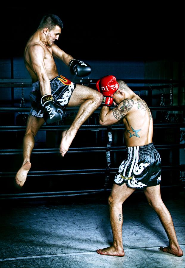 泰国矢量图泰拳