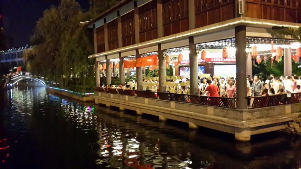 广州荔枝湾游船旅游景点攻略图