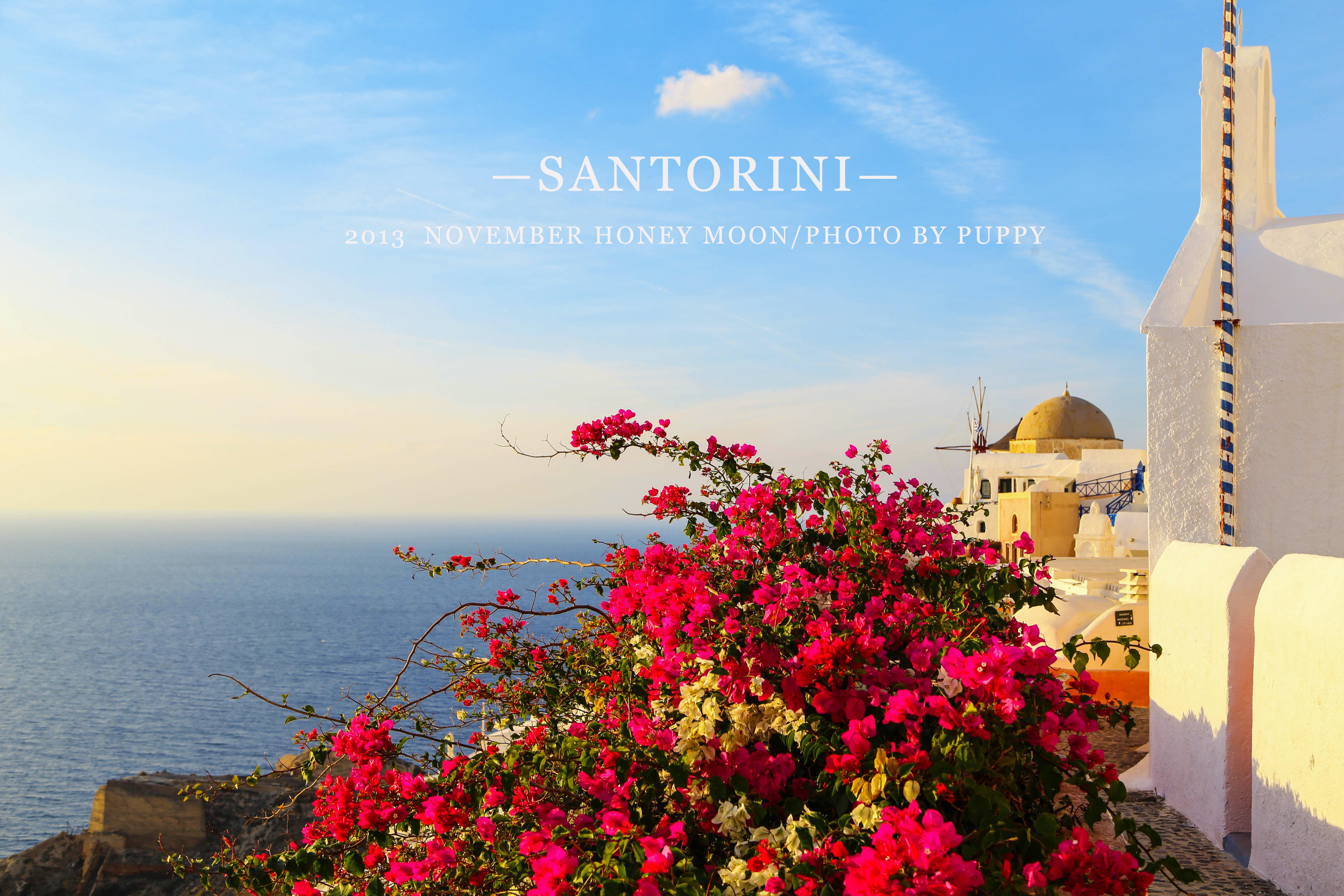 优美雅典风景图
