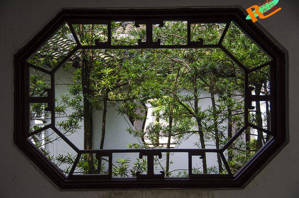 苏州窗户简笔画