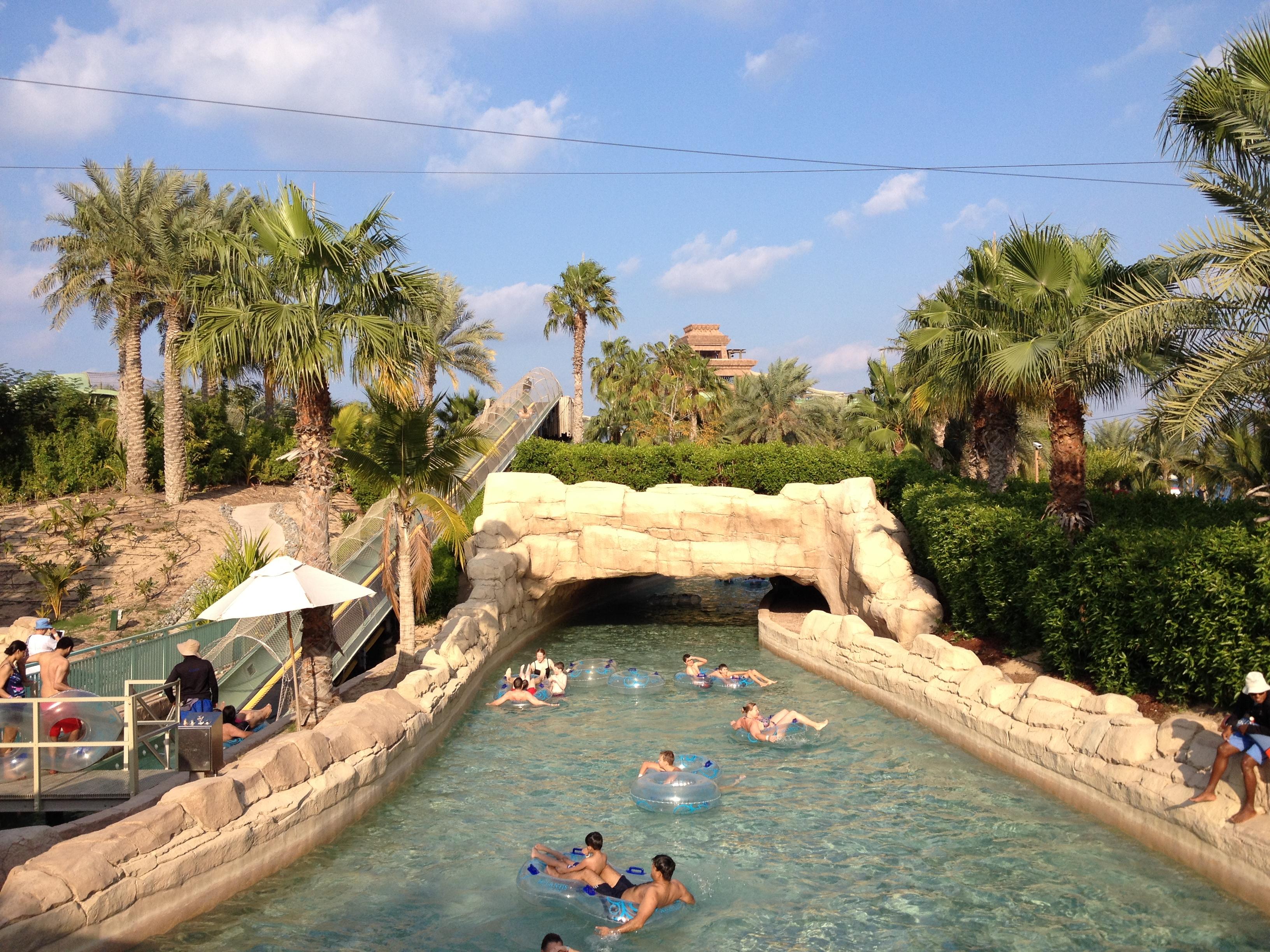 亚特兰蒂斯水上乐园,迪拜亚特兰蒂斯水上乐园攻略
