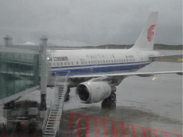 返程的ca4121航班