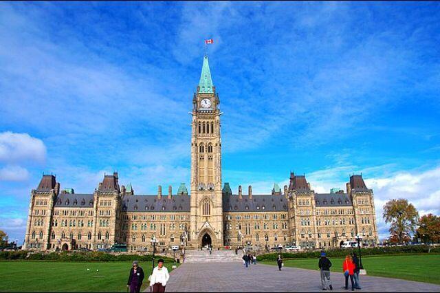 加拿大首都地标性建筑