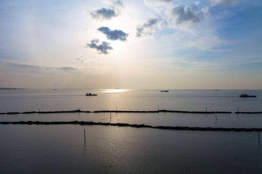 太湖贡湖湾之晨图片