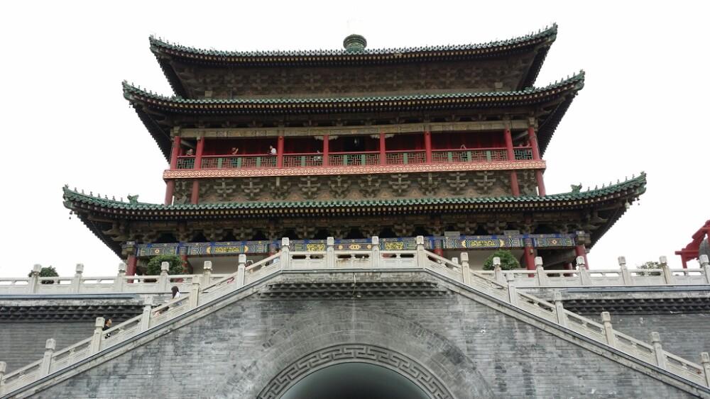 西安钟楼旅游景点攻小吃香港旺角攻略略图图片