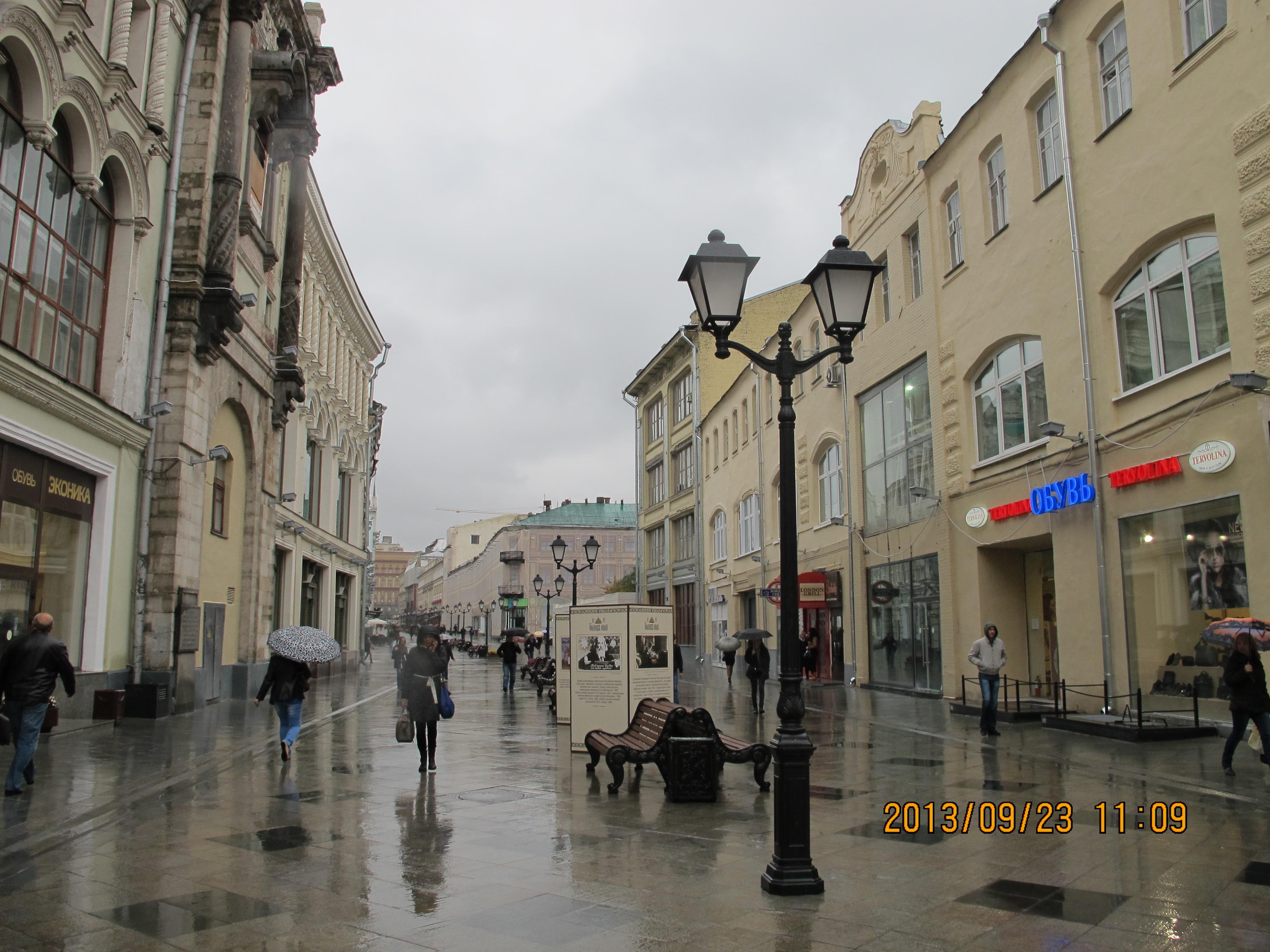 欧式建筑风格的商业街图片