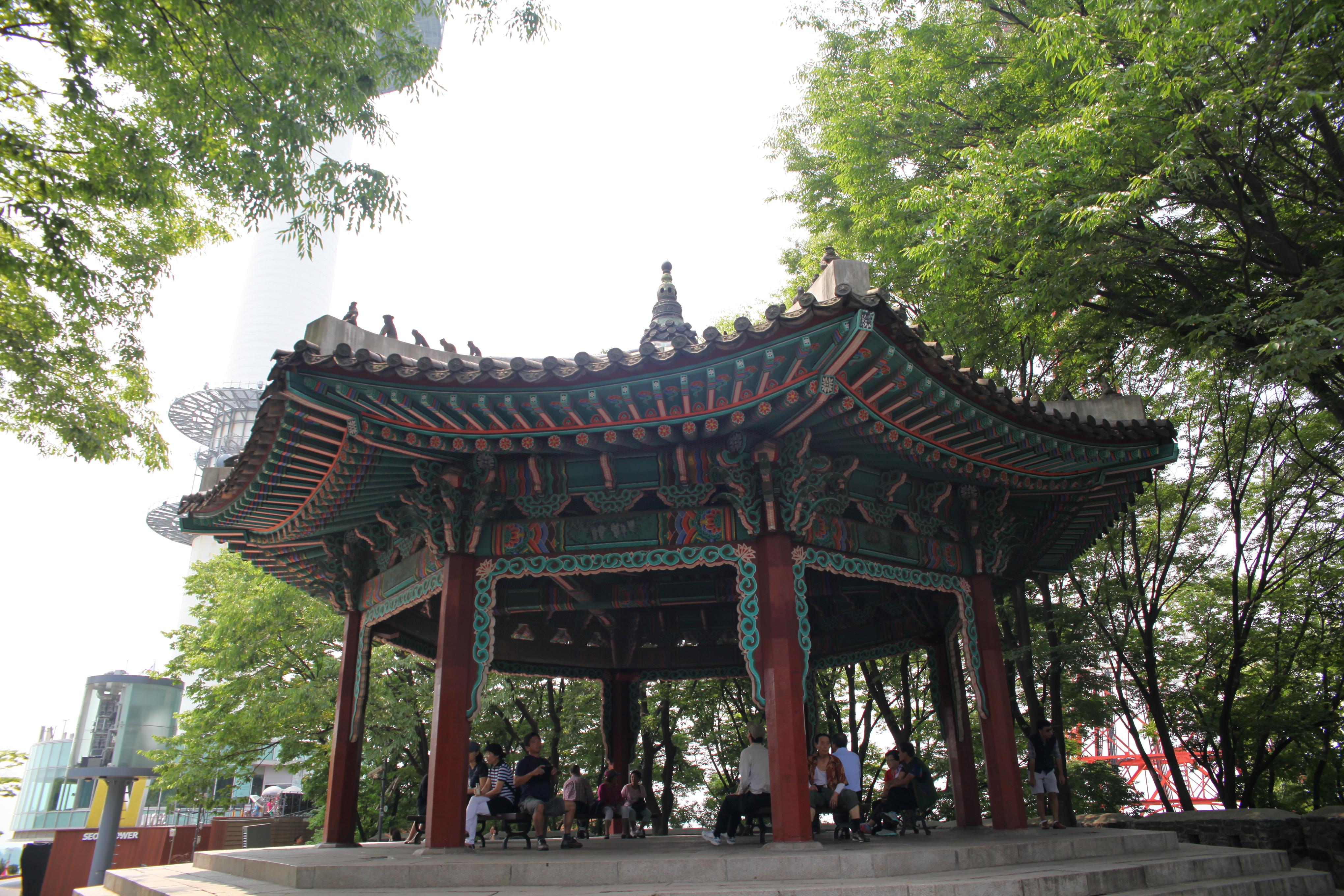 【携程攻略】首尔南山公园景点