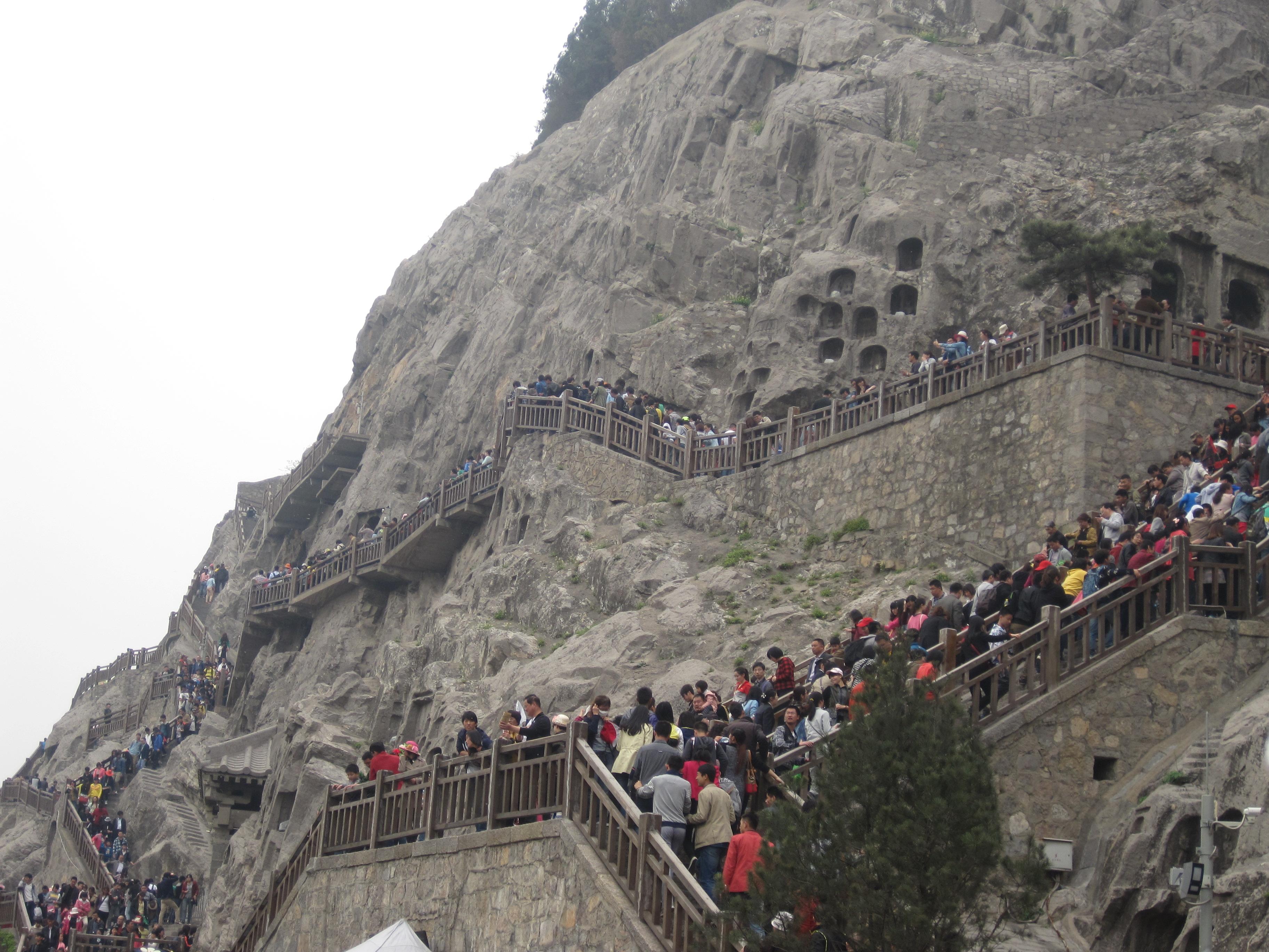 穷游古都(洛阳,西安)&爬华山图片