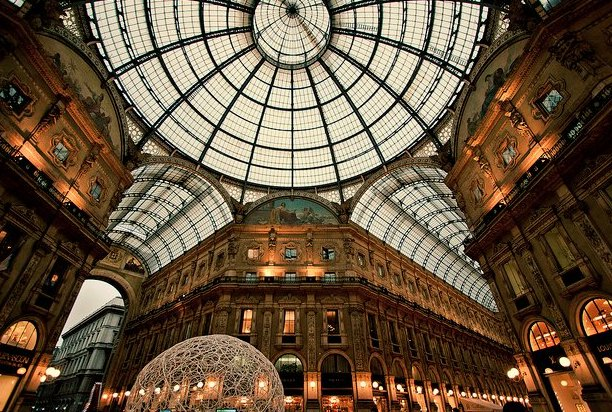 米兰建筑手绘高清图