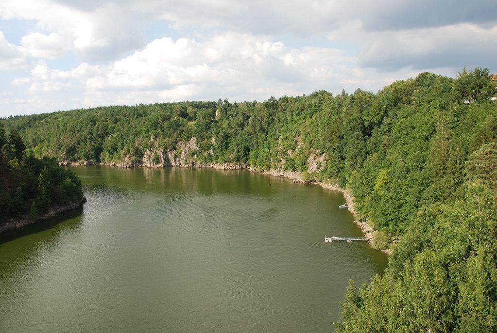 美丽的沃尔塔瓦河风光,难忘的捷克之旅.