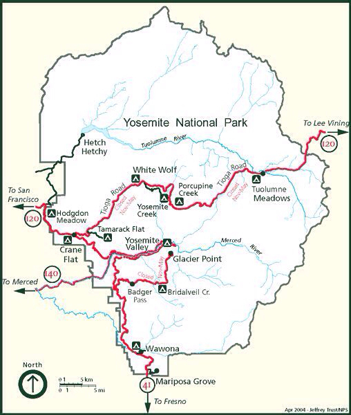 大自然的诗篇(1):加州优胜美地国家公园