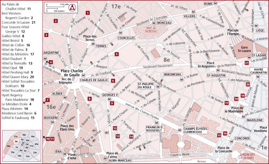 法国-巴黎-资料篇-地图