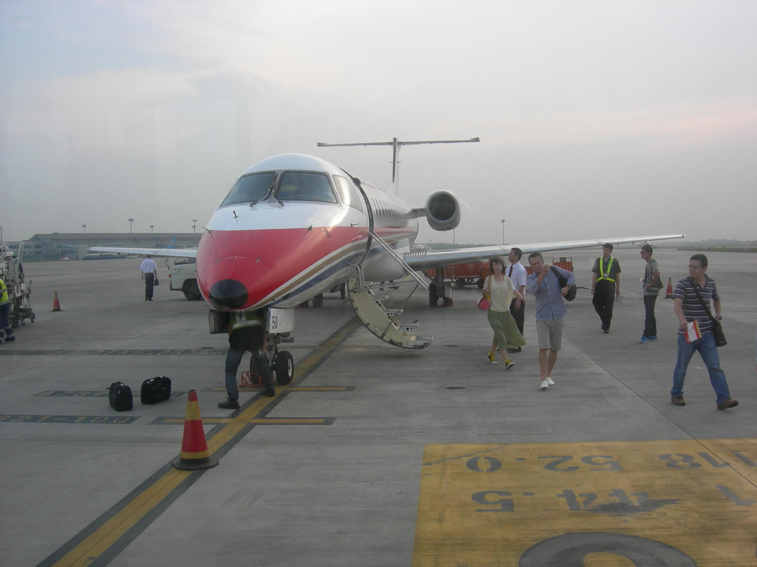 坐威海到南京飞机返宁