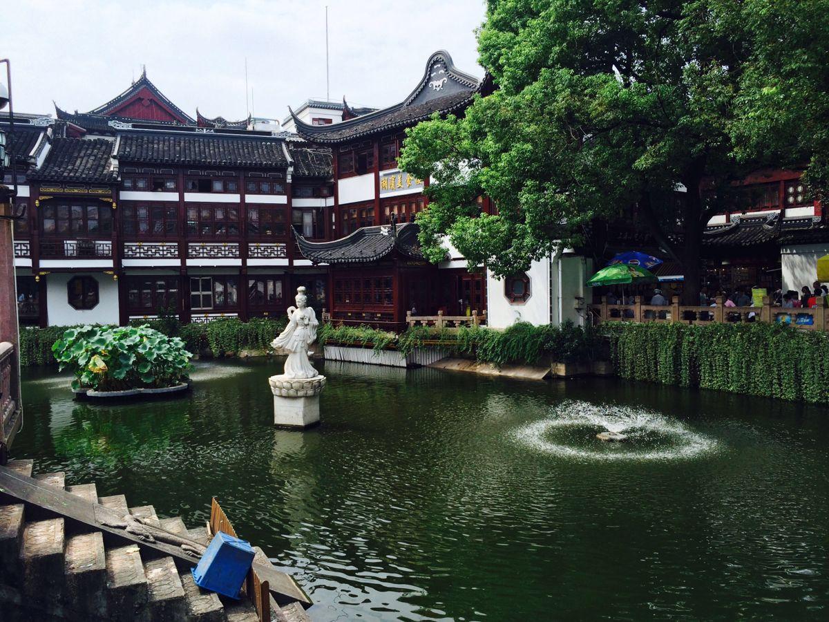 【携程攻略】上海豫园适合商务旅行旅游吗,豫园商务