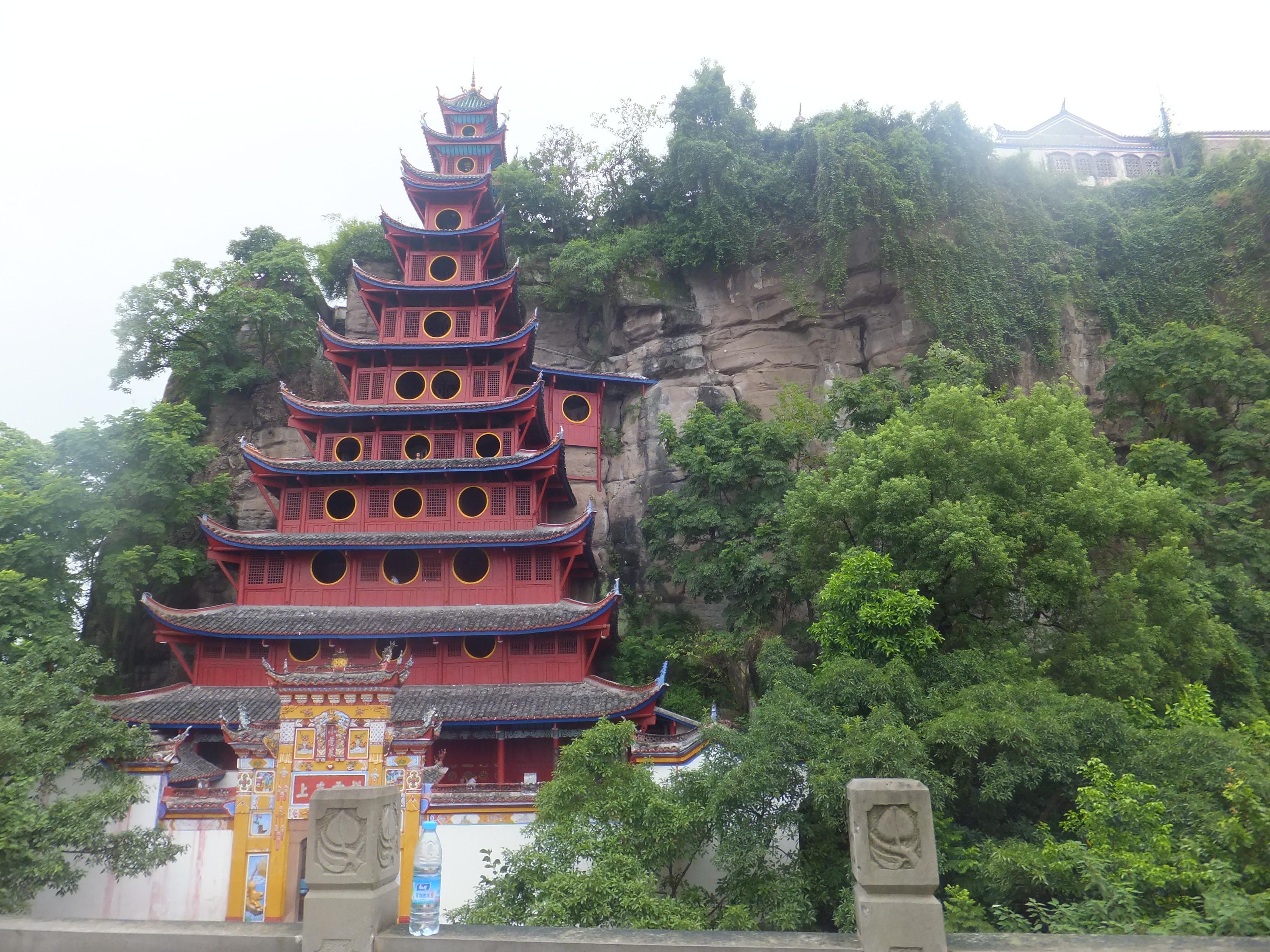 石寶寨,是國家級文物保護單位,國家4a級旅游景區.