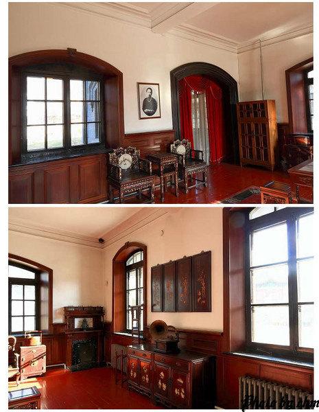 赵一荻故居俗称赵四小姐楼, 位于张氏帅府的大院的东墙外, 为一座二