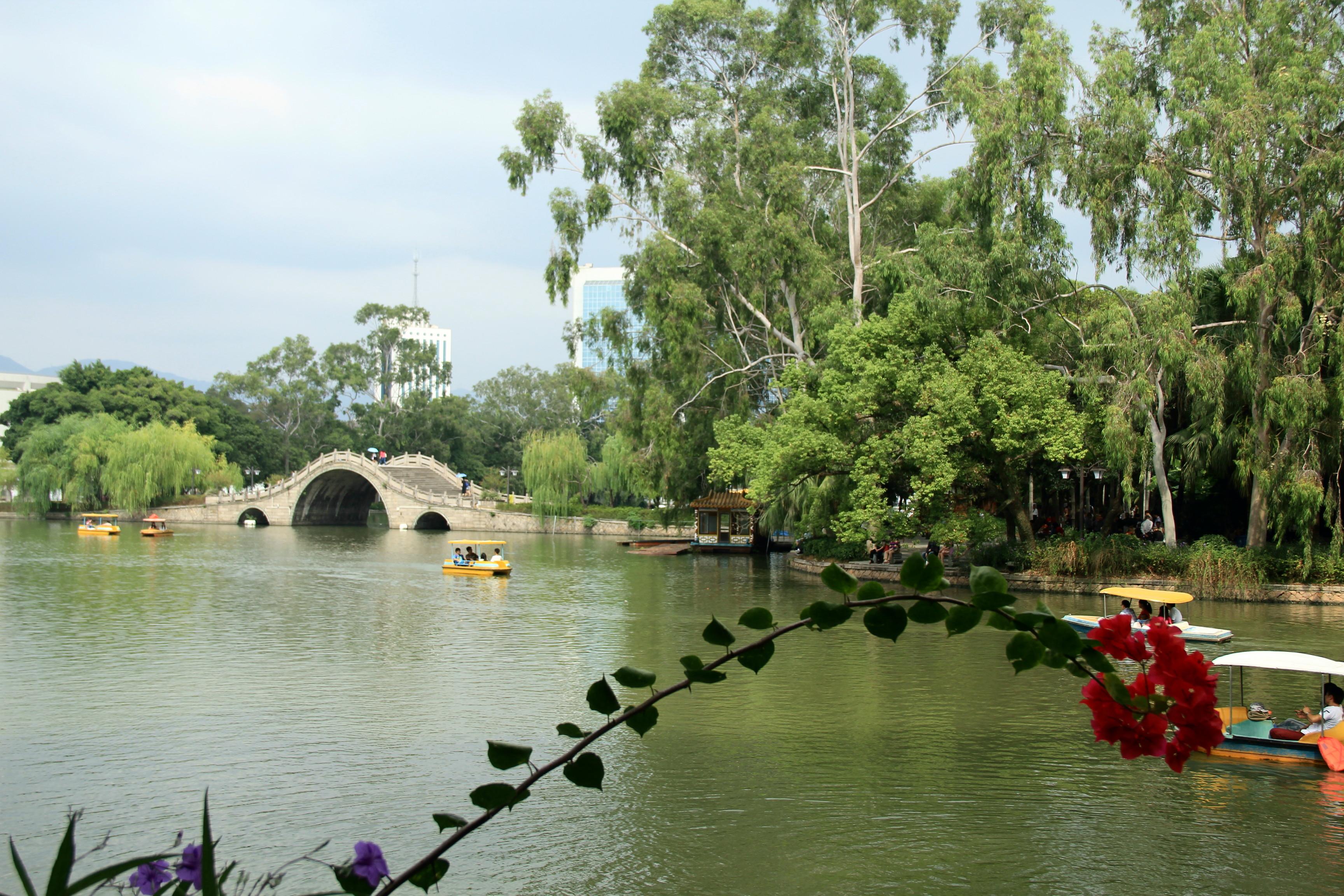 【攜程攻略】福建福州西湖公園好玩嗎