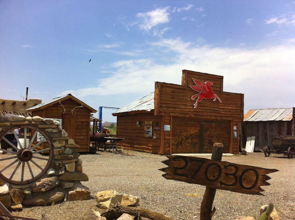 美国自驾西行漫记之五:小镇西部风情