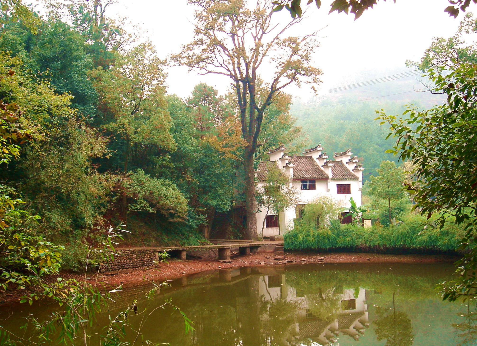 婺源风景区用料的轻钢别墅图片