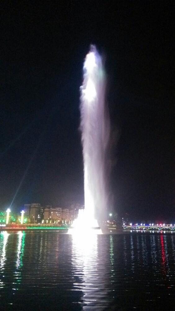 亚洲第一高喷泉,河源亚洲第一高喷泉攻略/地址/图片