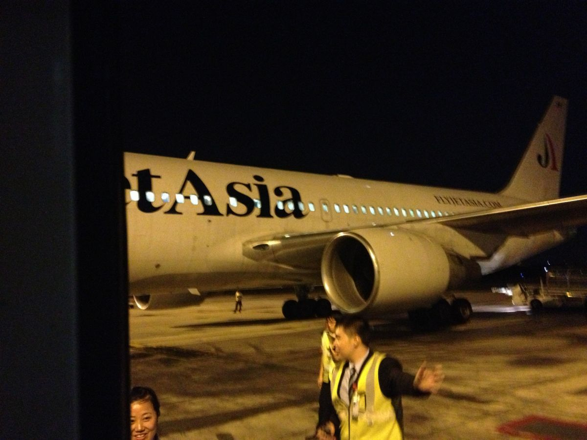北京到曼谷的飞机