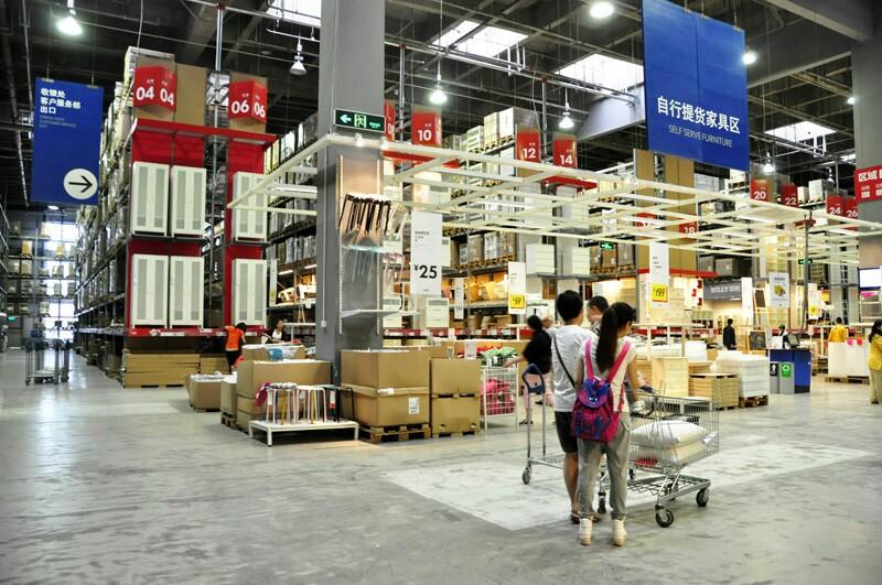 宜家家居杭州店和上海宜家店具体位置图片