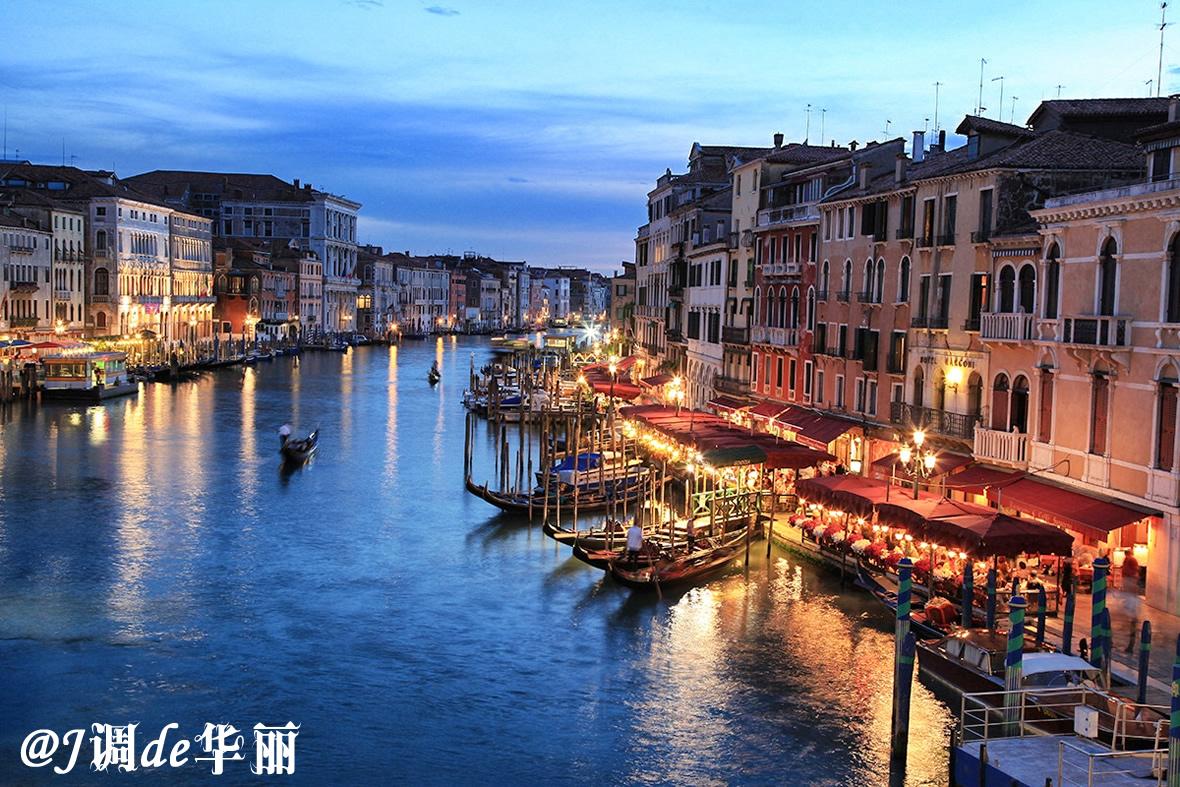 威尼斯风景横矢量图大图