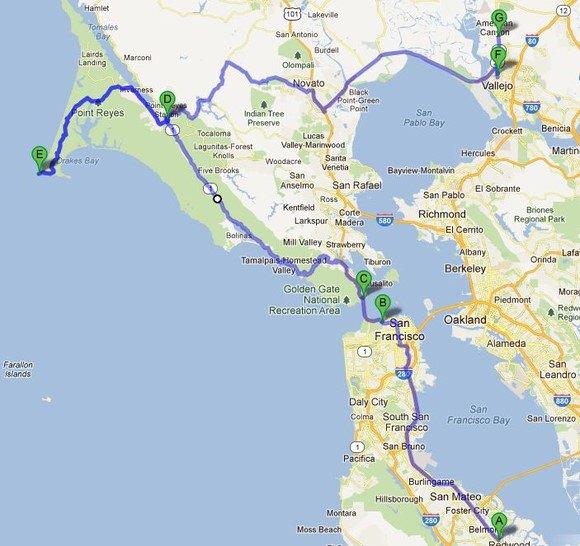 【原创】美国加州自驾游攻略