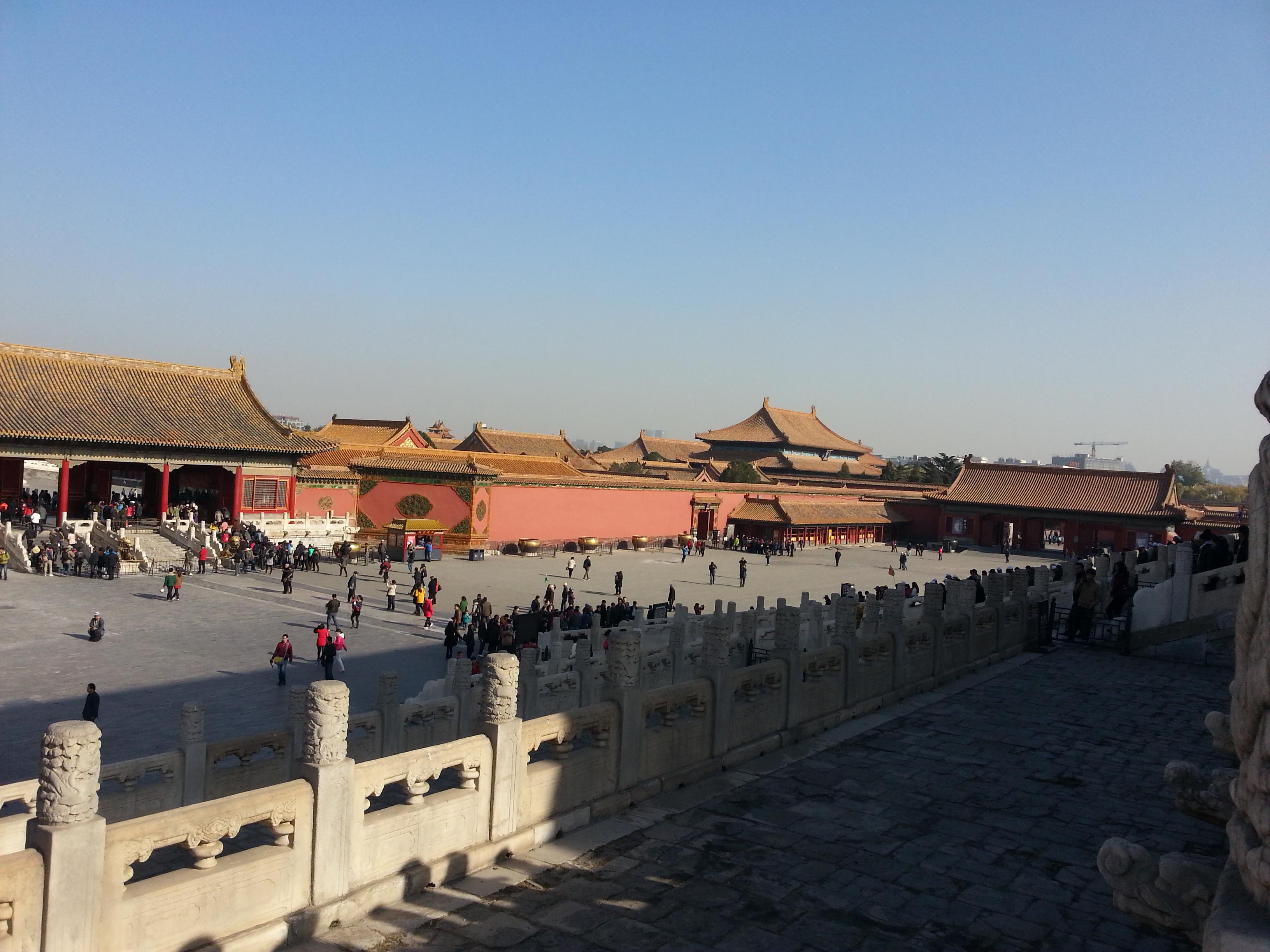 北京故宫简笔画步骤