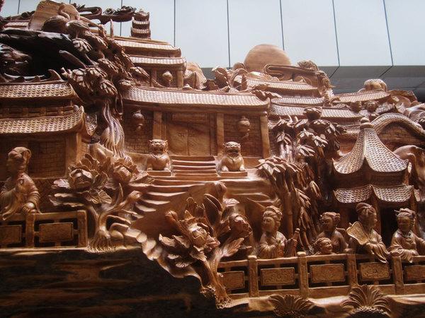 低调奢华的木雕艺术