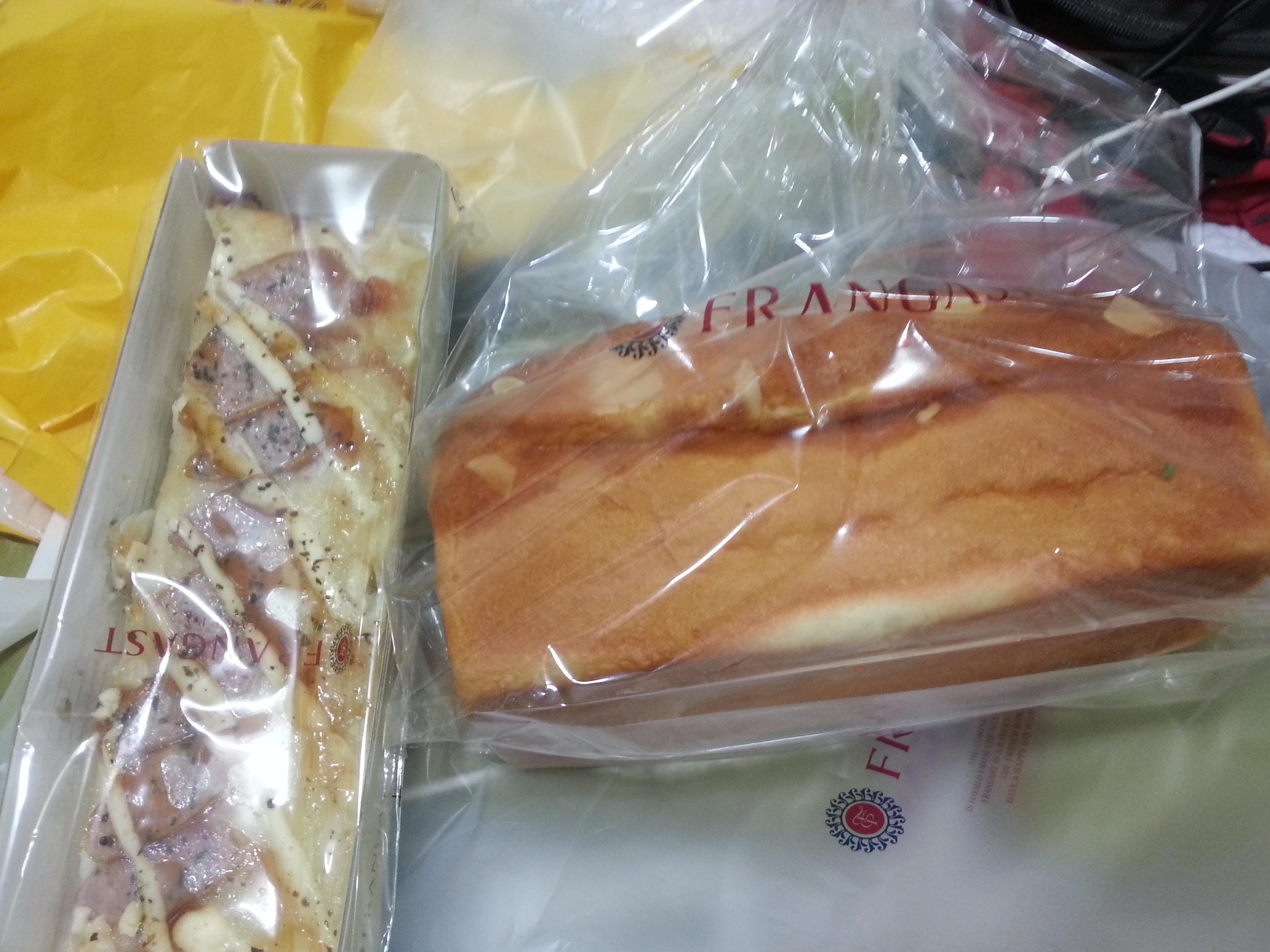 00都在飞机上,这两个面包7920韩元