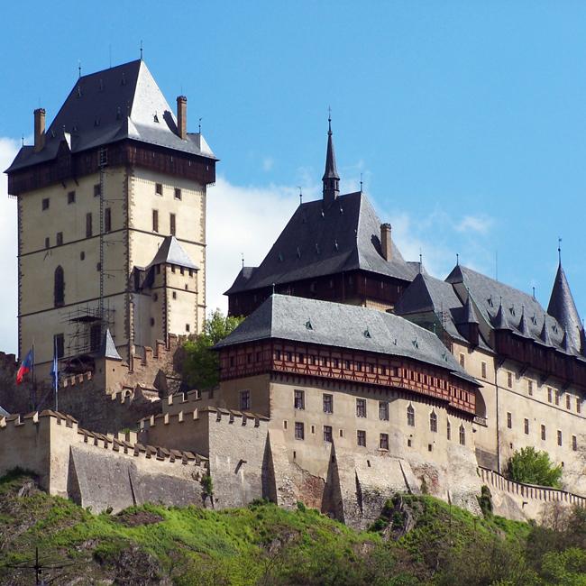 城堡简笔画漂亮