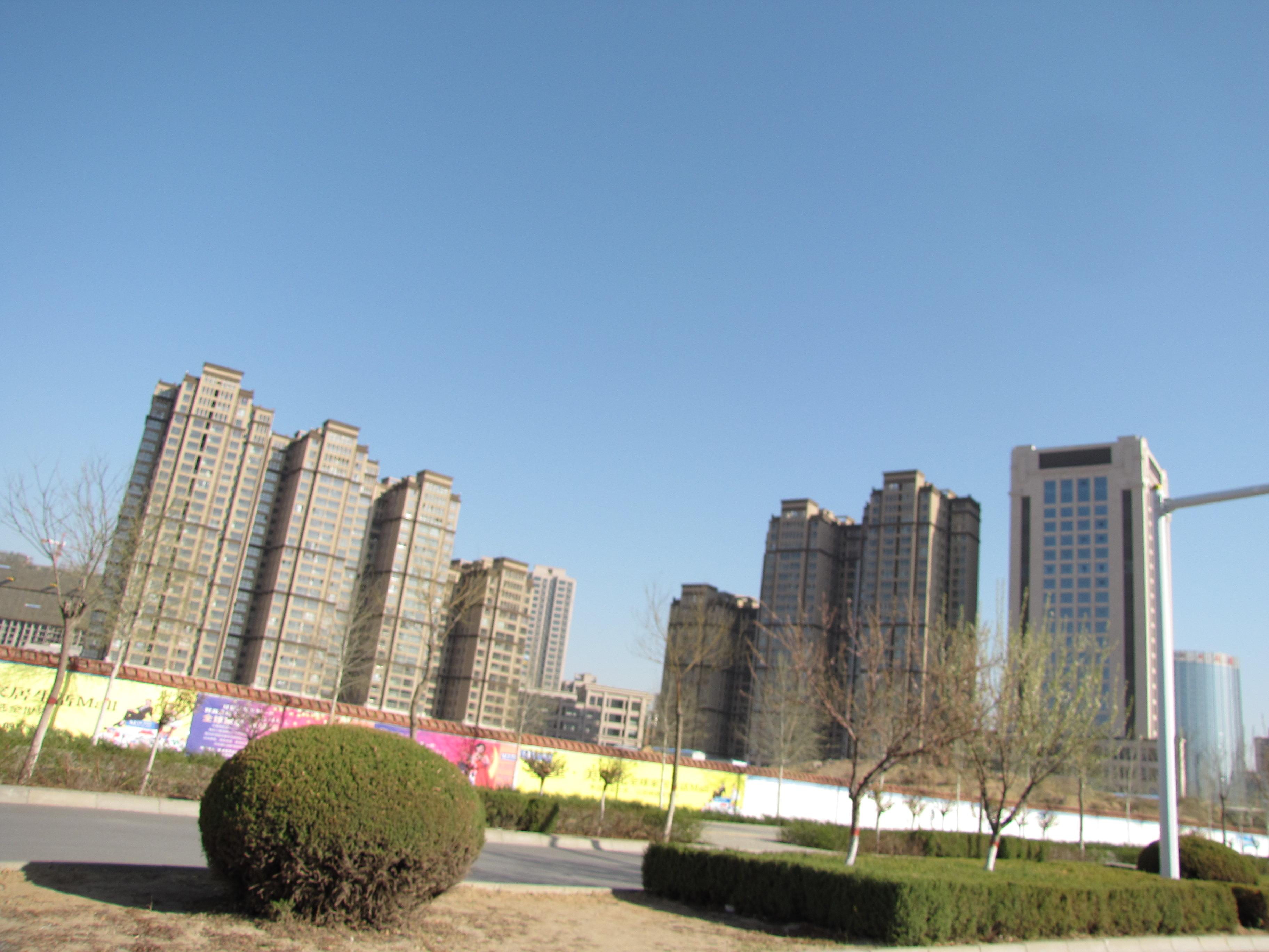 陕北榆林开发区的就是蓝天优势?高中部东辰绵阳图片