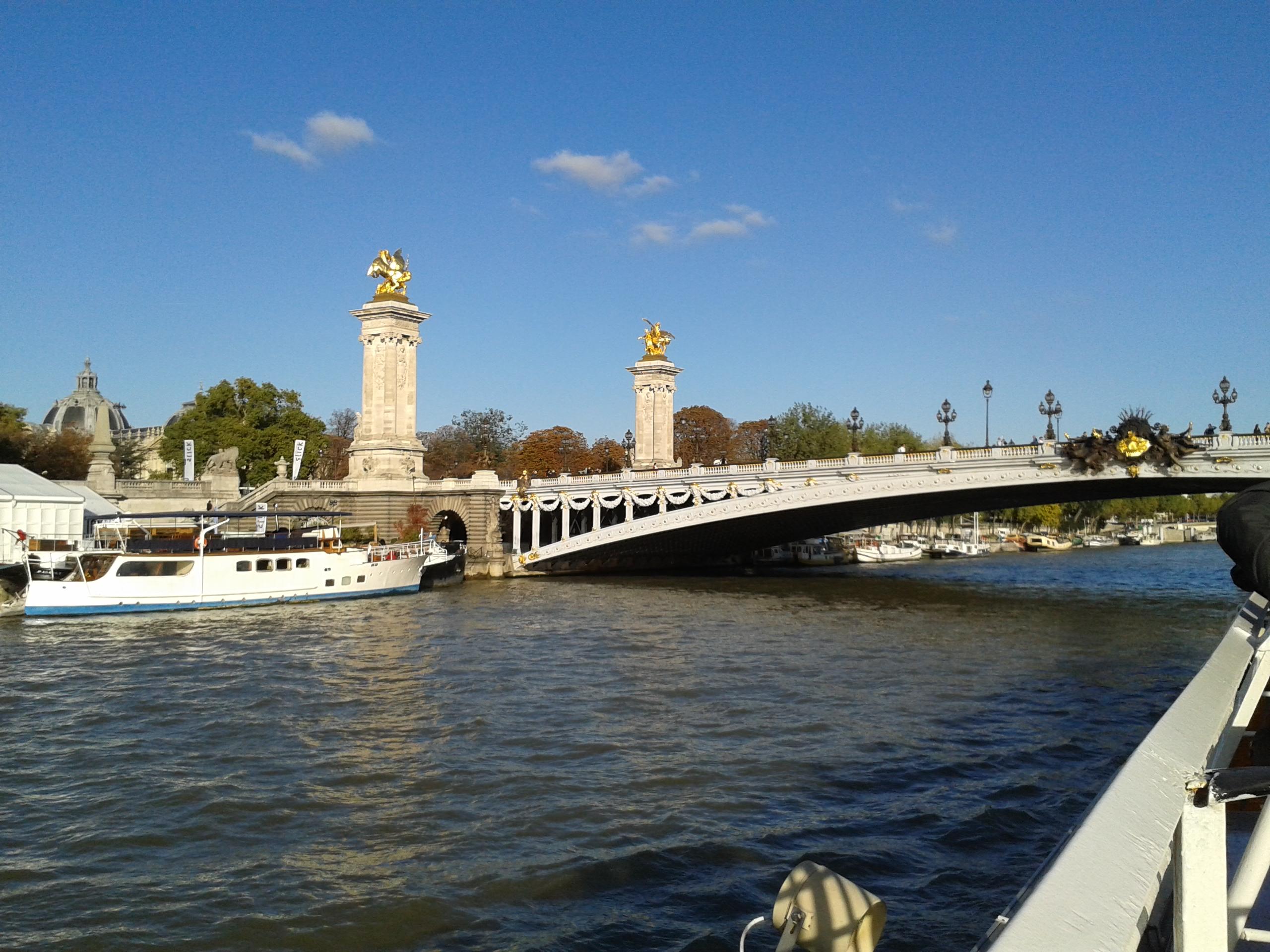 塞纳河 初游巴黎