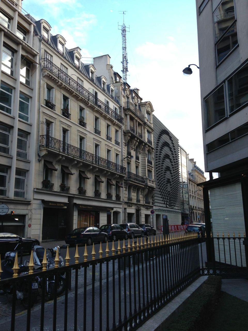 巴黎 手绘 香奈儿大街