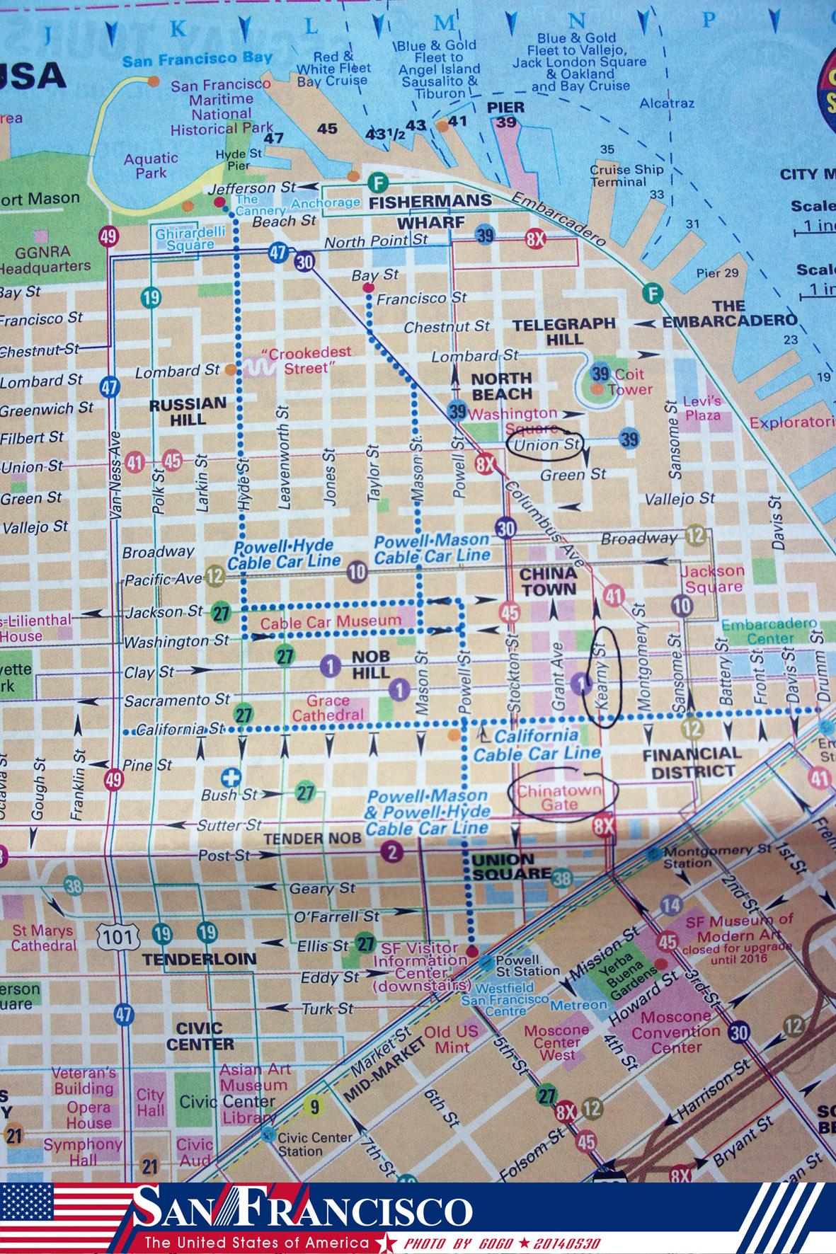 旧金山地图