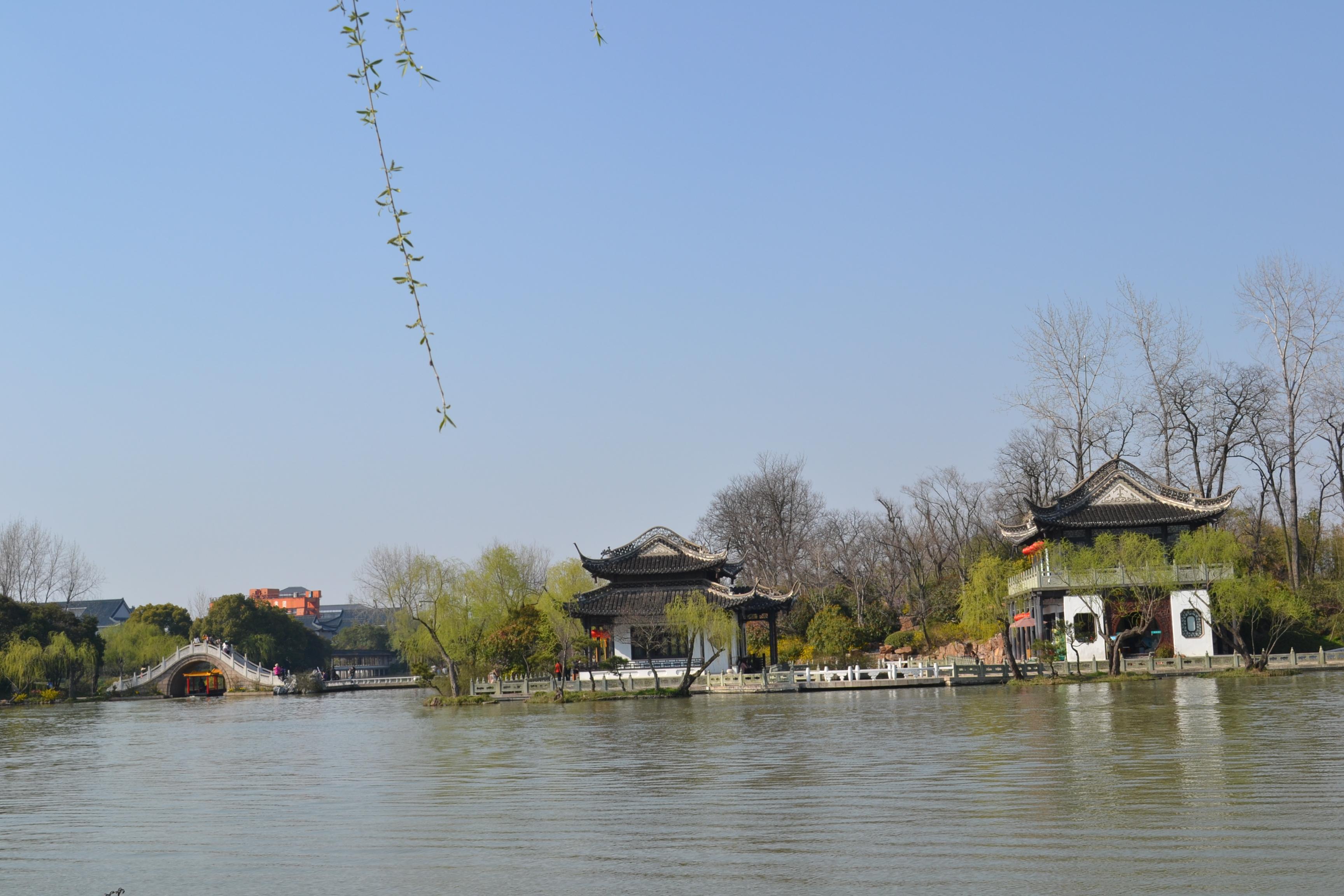 景-游扬州瘦西湖图片