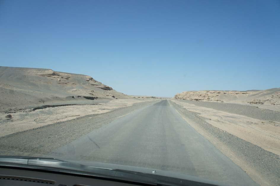 瓜吧 从那以后到敦煌的路还是好走的,国道非常好,很直,但周围没人、没房、没参照物,开车很容易疲劳,而且容易分不清对面的车是同方向的还是对向的,所以要小心驾驶。到敦煌后先去的酒店,吃东西然后直奔莫高窟。在去莫高窟的路上遇到了沙尘暴,算是开眼了,风暴过来飞沙一片,能见度不足十米,当时在路上是前进不得也后退不得。当地的客车照开,我们也跟不上。好在大风暴时间不长,顶着小些的沙尘终于到了莫高窟。莫高窟介绍的多,就不多说了,我的感觉是保护的比较好,佛像色彩比较丰富,好看些。个人认为还是值得一看。进出敦煌都需收费五元