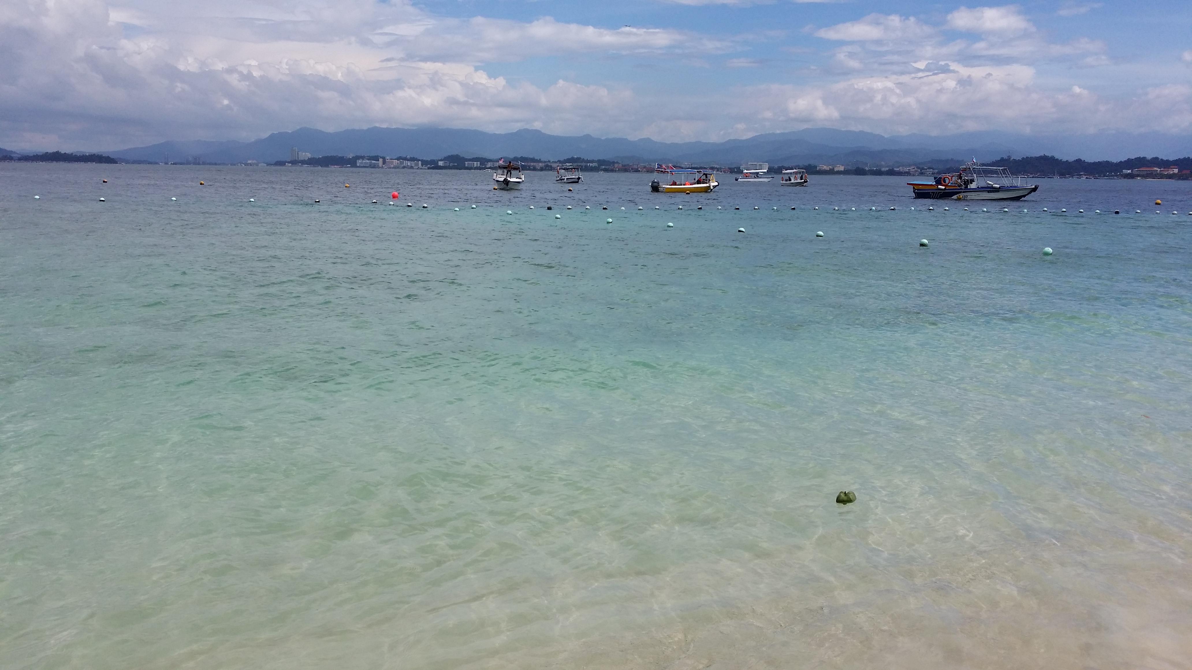 二次蜜月,可爱的大海,沙巴