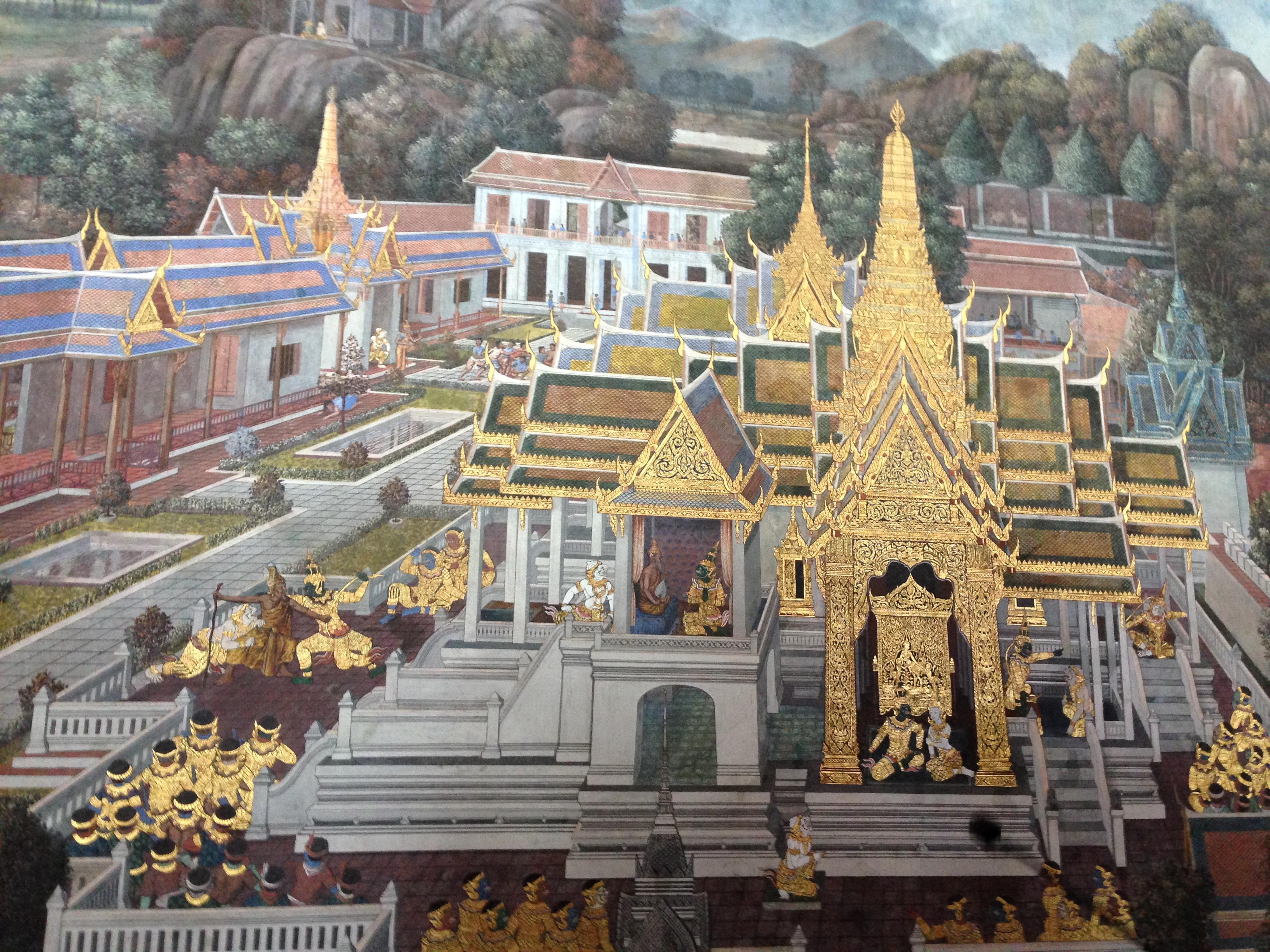 泰国金柚木皇宫