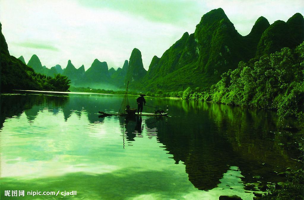 桂林山水甲天下,阳朔山水甲桂林.