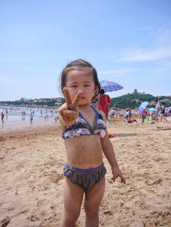 青岛第一海水浴场