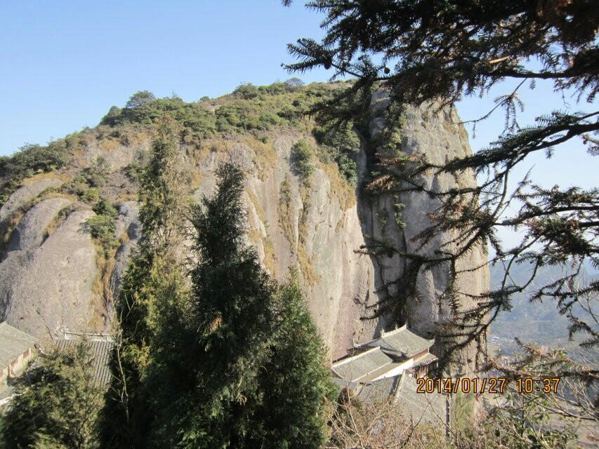 温岭方山景区图片