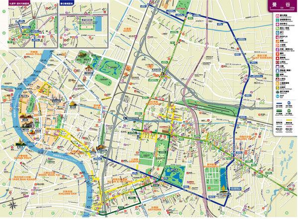 【曼谷地图】