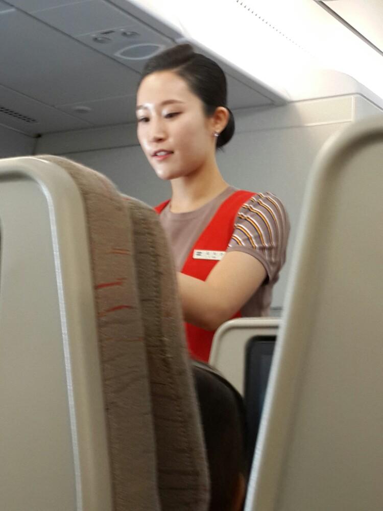 韩亚航空空姐_ 泛美自驾>韩亚航空