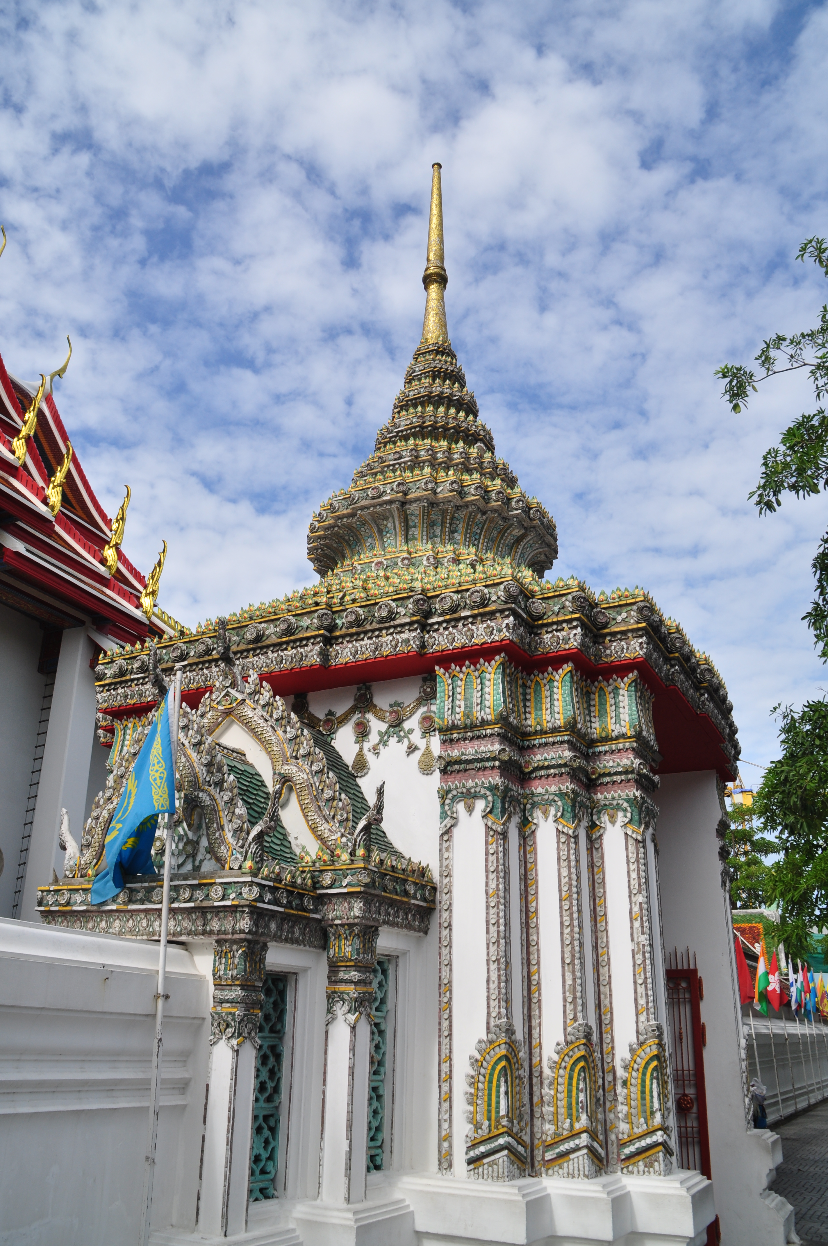 泰国屋顶矢量图