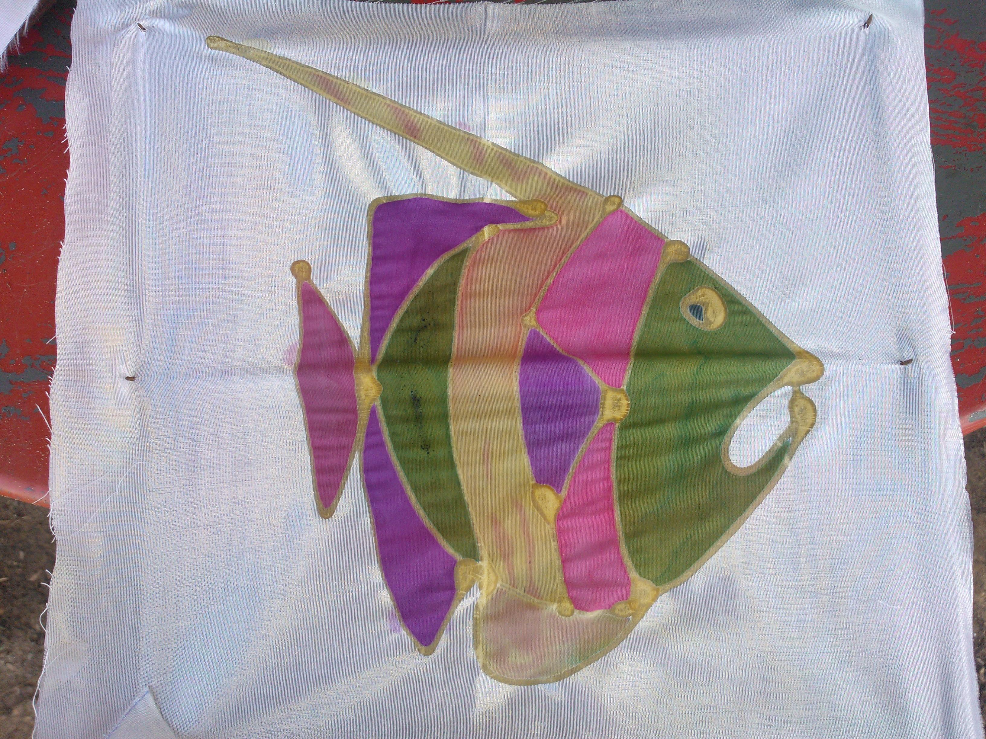 幼儿园大班香蕉船画画图片