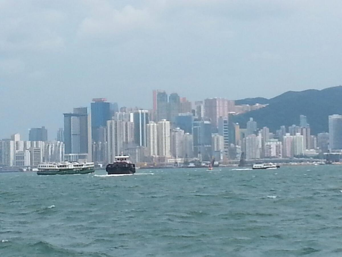 香港离岛过中秋