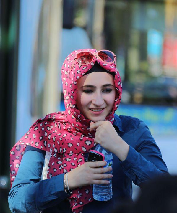 时尚的土耳其美女