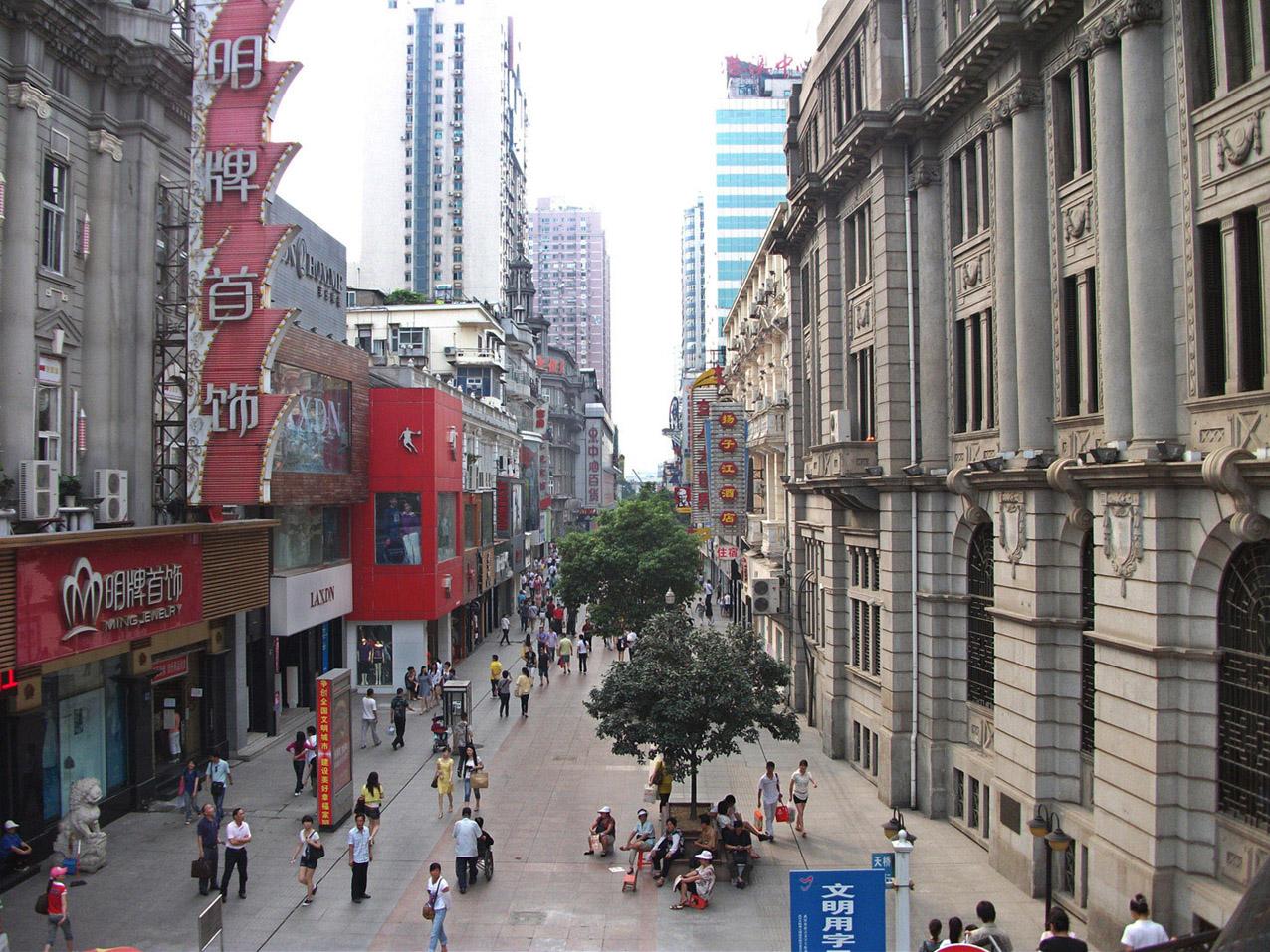 江汉路步行街,武汉江汉路步行街攻略/地址/图片/门票